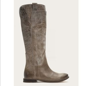 Frye Paige Tall Riding Boots- Size 7.5 Gray